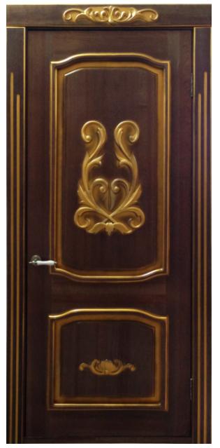 двери с накладными металлическими элементами